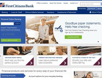 Thumbshot of Firstcitizens.com