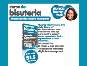 cursodebisuteria.com screenshot