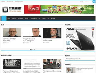 tesanj.net screenshot