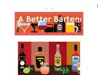 beabetterbartender.com screenshot