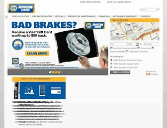 napaautocare.com screenshot