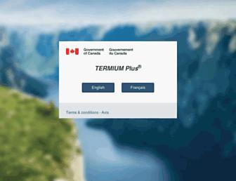 btb.termiumplus.gc.ca screenshot