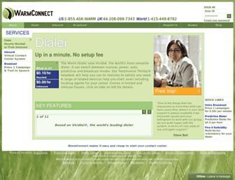 warmconnect.com screenshot