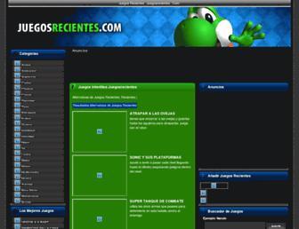 juegosrecientes.com screenshot