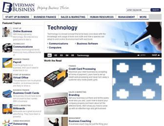 Thumbshot of Everymanbusiness.com