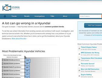 hyundaiproblems.com screenshot