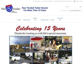 theusatrailerstore.com screenshot