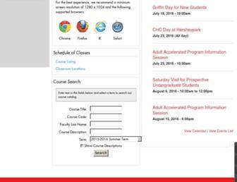 my.chc.edu screenshot