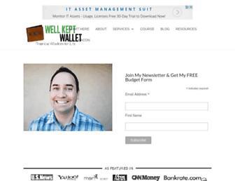 wellkeptwallet.com screenshot