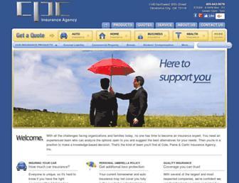 cpcinsurance.com screenshot