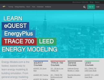 energy-models.com screenshot
