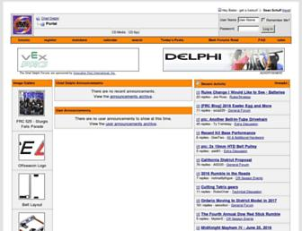 chiefdelphi.com screenshot