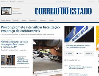 correiodoestado.com.br screenshot