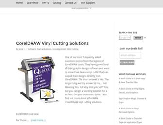 blog.signwarehouse.com screenshot