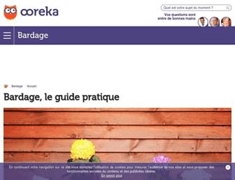 bardage.comprendrechoisir.com screenshot