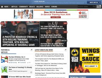 Thumbshot of Ewrestlingnews.com