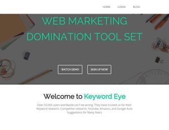 Thumbshot of Keywordeye.com