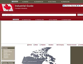 industrialguide.org screenshot