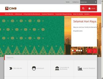 cimb.com screenshot