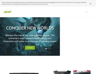 Thumbshot of Acer.co.uk