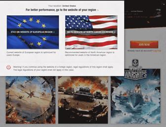 eu.wargaming.net screenshot