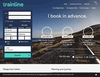 Thumbshot of Thetrainline.com