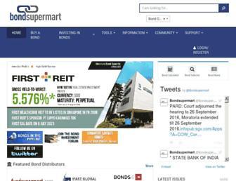 bondsupermart.com screenshot