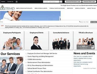 Thumbshot of Tri-ad.com