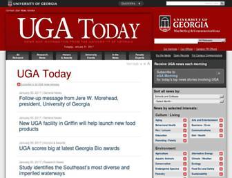 news.uga.edu screenshot