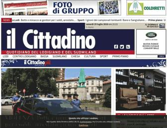 ilcittadino.it screenshot