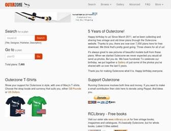 outerzone.co.uk screenshot