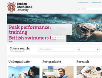 www1.lsbu.ac.uk screenshot