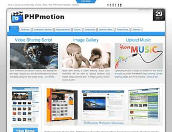 Thumbshot of Phpmotion.com
