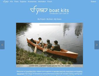 fyneboatkits.co.uk screenshot