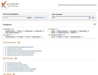 kb.kilgray.com screenshot
