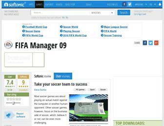 fifa-manager.en.softonic.com screenshot