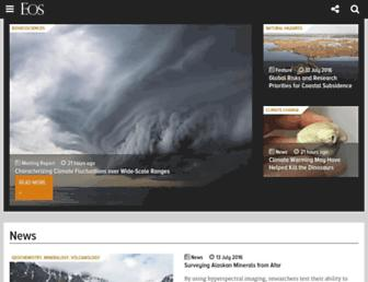 eos.org screenshot