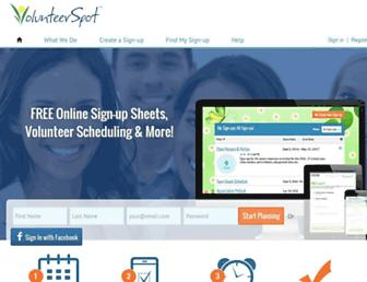 Thumbshot of Volunteerspot.com