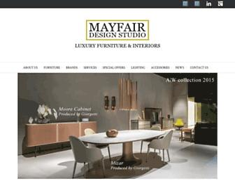 mayfairdesignstudio.com screenshot