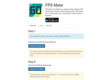 fpsmeter.github.io screenshot