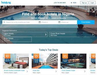 hotels.ng screenshot
