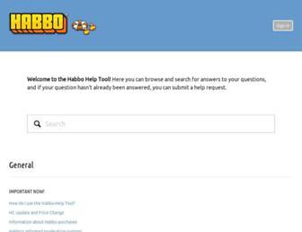 help.habbo.com screenshot