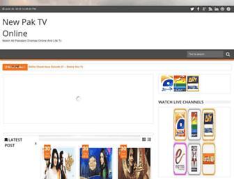 newpaktv.blogspot.com screenshot