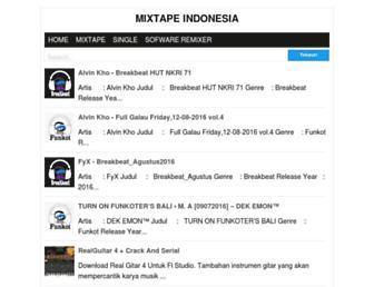 mixtapeindonesia.blogspot.com screenshot