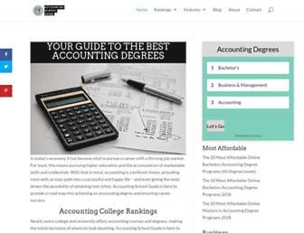 accountingschoolguide.com screenshot