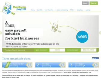 thankyoupayroll.co.nz screenshot