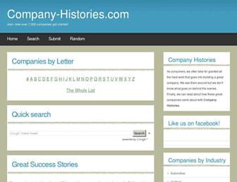 company-histories.com screenshot