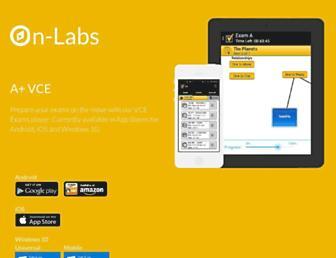on-labs.com screenshot