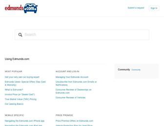 help.edmunds.com screenshot