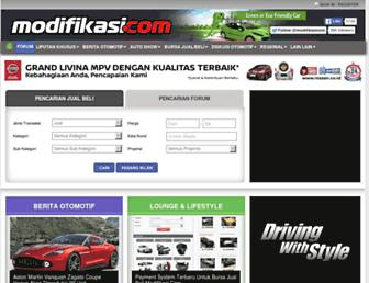 modifikasi.com screenshot